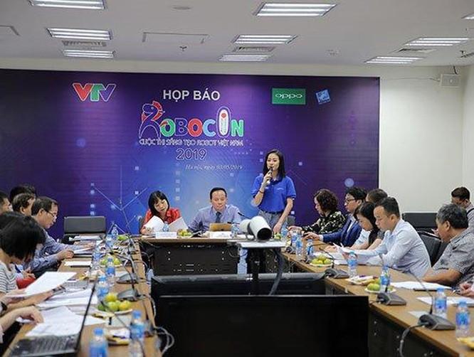 Chung kết cuộc thi sáng tạo Robot Việt Nam 2019 sắp diễn ra ở Hải Dương ảnh 1