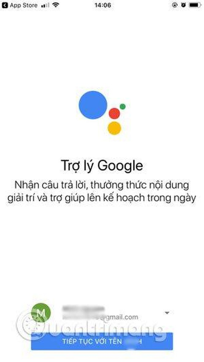 Hướng dẫn sử dụng trợ lý Google Assistant tiếng Việt trên iOS ảnh 1