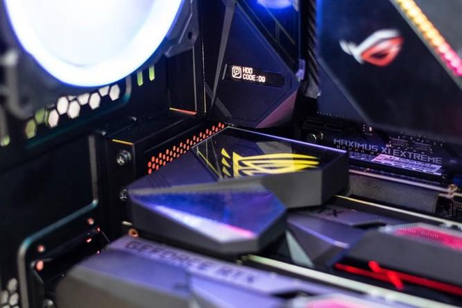 Chi tiết PC sở hữu 2 card đồ họa ROG Matrix 2080 Ti độc nhất VN ảnh 8