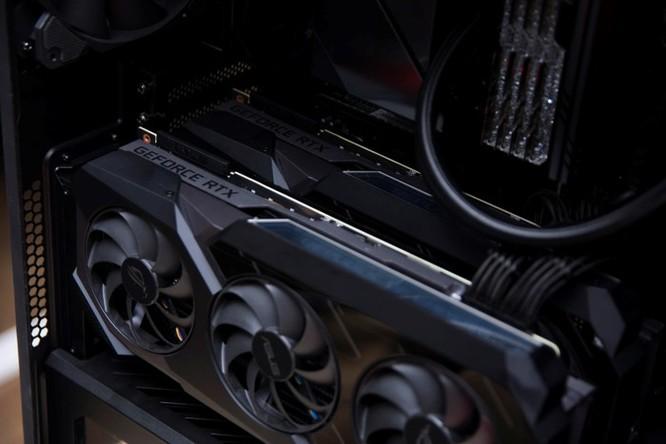 Chi tiết PC sở hữu 2 card đồ họa ROG Matrix 2080 Ti độc nhất VN ảnh 3