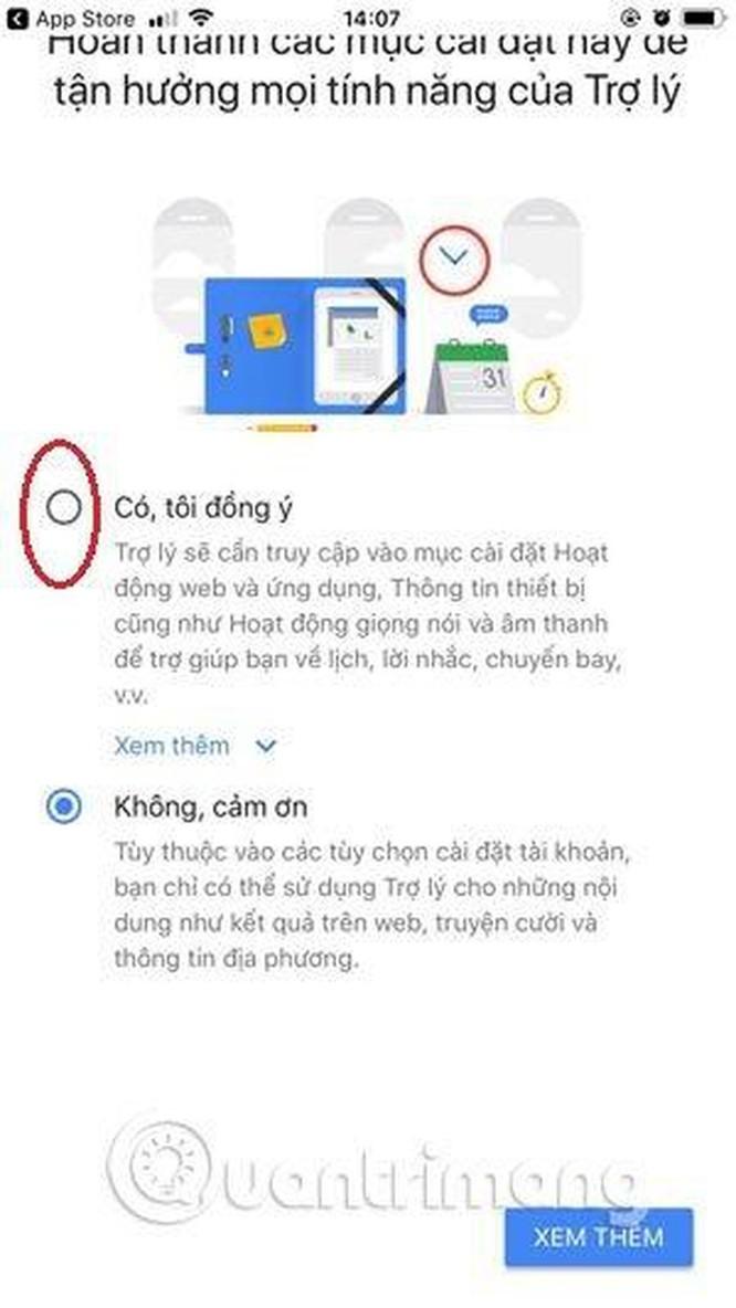Hướng dẫn sử dụng trợ lý Google Assistant tiếng Việt trên iOS ảnh 3