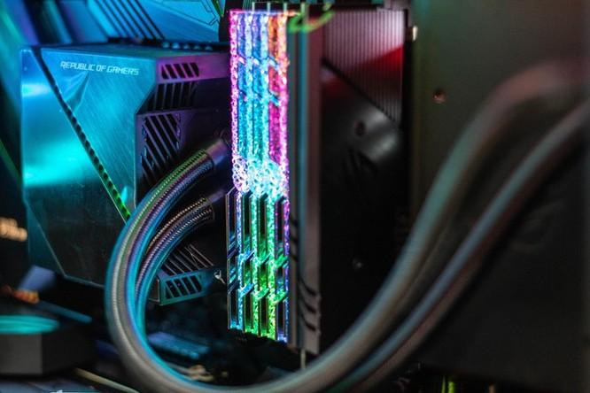 Chi tiết PC sở hữu 2 card đồ họa ROG Matrix 2080 Ti độc nhất VN ảnh 9