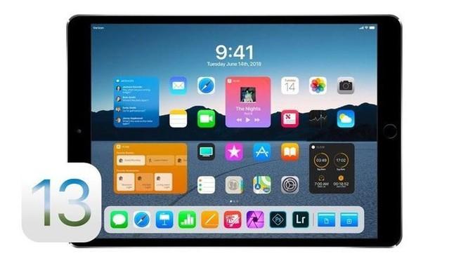 iOS 13 sẽ là bản nâng cấp lớn nhất dành cho iPad ảnh 1