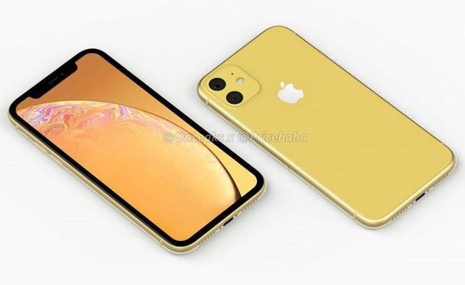 Hình dung về iPhone XR 2019 dùng camera kép ảnh 1