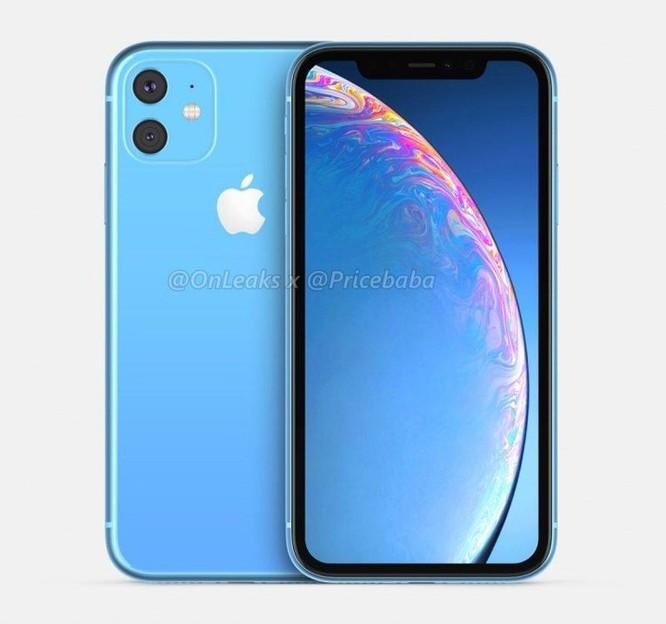 Hình dung về iPhone XR 2019 dùng camera kép ảnh 3