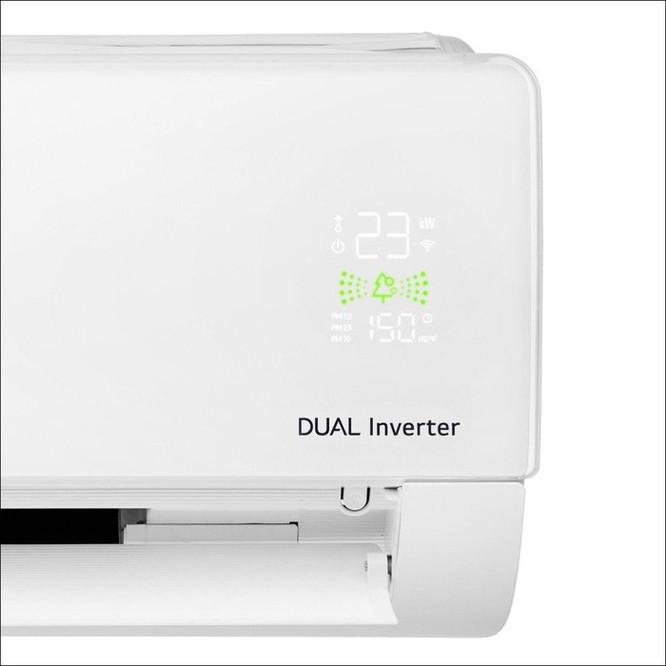 LG ra mắt máy lạnh LG Dual Cool Inverter APF tại Việt Nam, lọc sạch bụi bẩn lẫn vi khuẩn ảnh 3