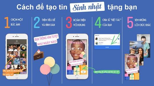 Facebook ra mắt tính năng Tin Sinh nhật - Birthday Stories - Ảnh 1.
