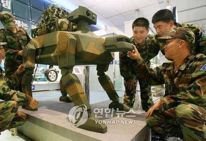 Hàn Quốc chế robot quân sự bắt chước rắn, chim cho chiến trường ảnh 1
