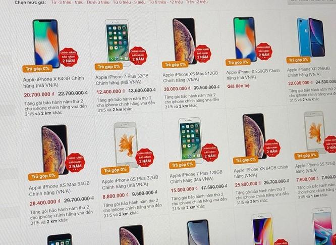 Nhiều cửa hàng ở Hà Nội ngừng bán máy xách tay ảnh 1