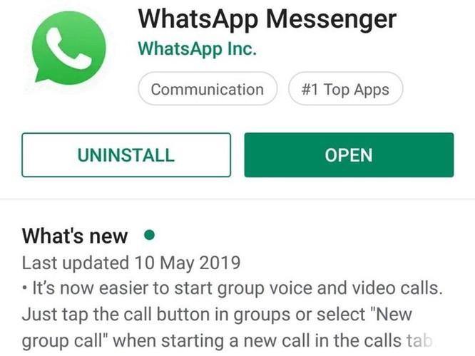 WhatsApp khuyến cáo người dùng cập nhật bản mới nhất sau vụ hack ảnh 3