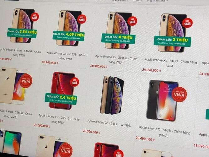 Nhiều cửa hàng ở Hà Nội ngừng bán máy xách tay ảnh 2