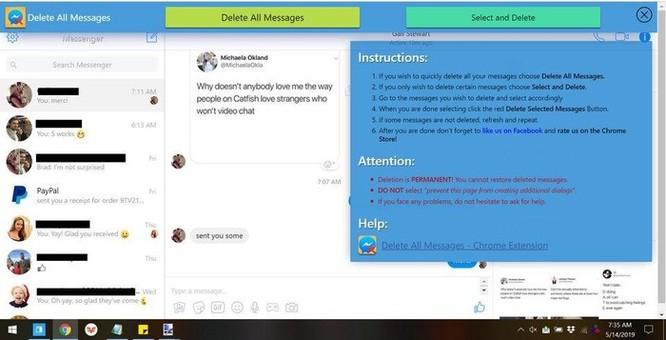 Hướng dẫn xóa tất cả tin nhắn Facebook một lúc ảnh 3