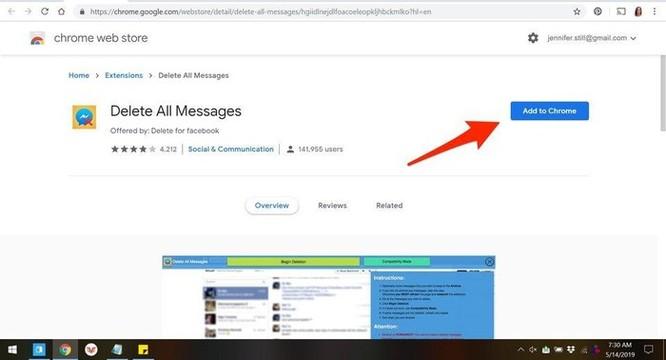 Hướng dẫn xóa tất cả tin nhắn Facebook một lúc ảnh 1