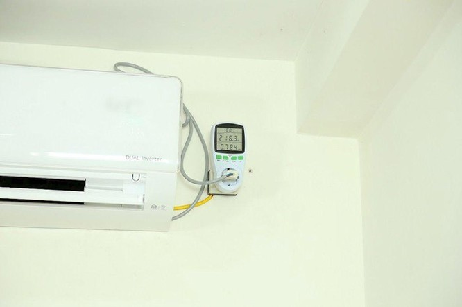 Thực tế mức tiêu thụ điện của điều hòa ảnh 1