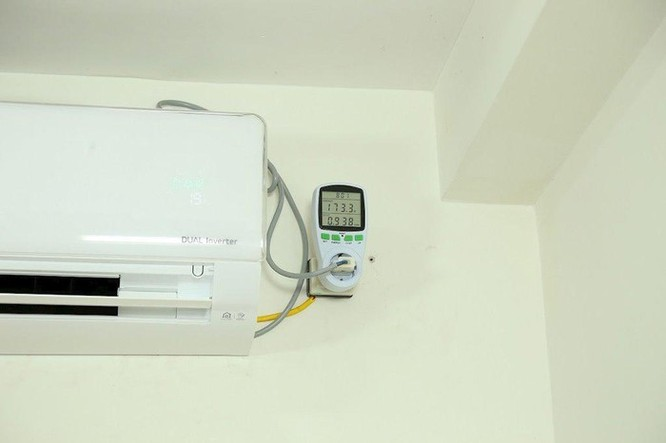 Thực tế mức tiêu thụ điện của điều hòa ảnh 2