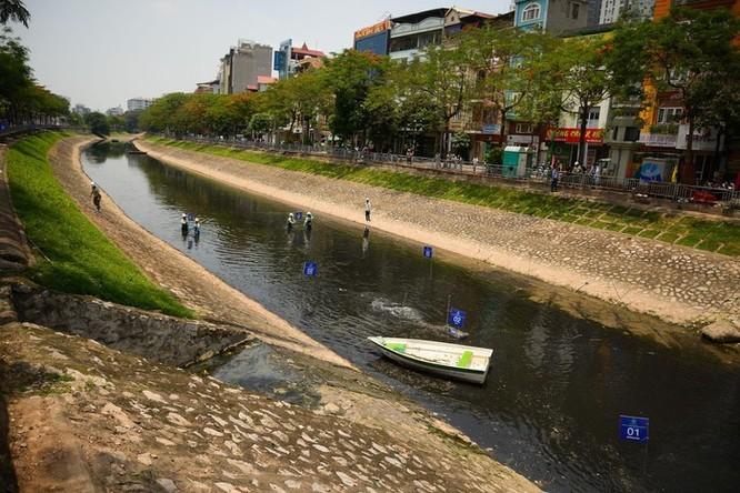 Giới khoa học nghi ngờ công nghệ làm sạch sông Tô Lịch của Nhật Bản ảnh 1