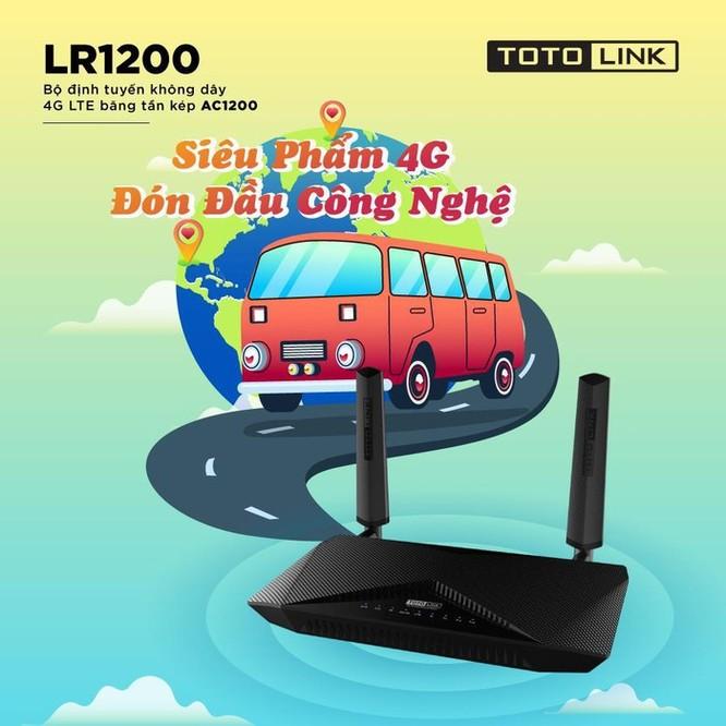 Router Totolink LR1200 - anten đa hướng, tốc độ LTE lên đến 150 Mbps ảnh 2