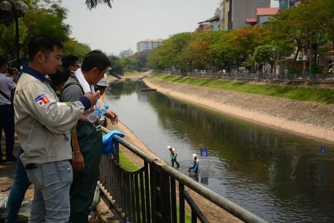 Giới khoa học nghi ngờ công nghệ làm sạch sông Tô Lịch của Nhật Bản ảnh 2