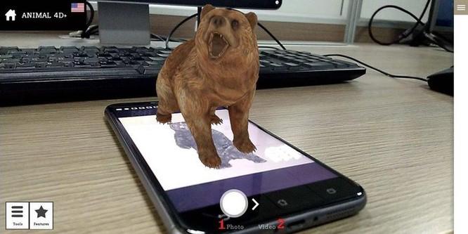 Hướng dẫn tạo hình chiếu động vật 4D đang được cư dân mạng thi nhau làm ảnh 4