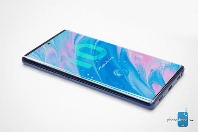 Bản dựng Galaxy Note 10 siêu đẹp với 4 camera dọc ảnh 3