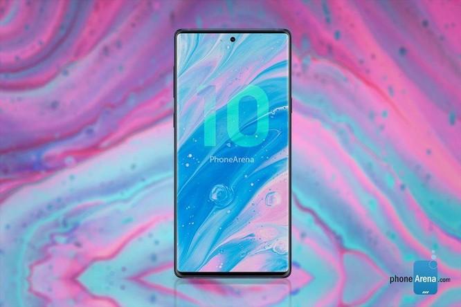 Bản dựng Galaxy Note 10 siêu đẹp với 4 camera dọc ảnh 5
