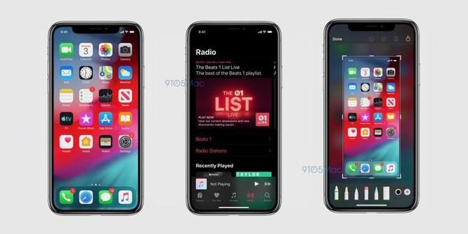 iOS 13 lộ diện - Dark Mode, nhiều ứng dụng được làm mới ảnh 1