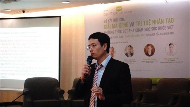 Tiến sĩ Google về Việt Nam mong phát triển ngành chăm sóc sức khỏe chính xác ảnh 1