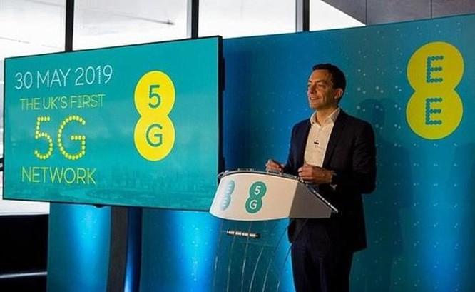 Anh chính thức cung cấp dịch vụ mạng di động 5G thương mại ảnh 1