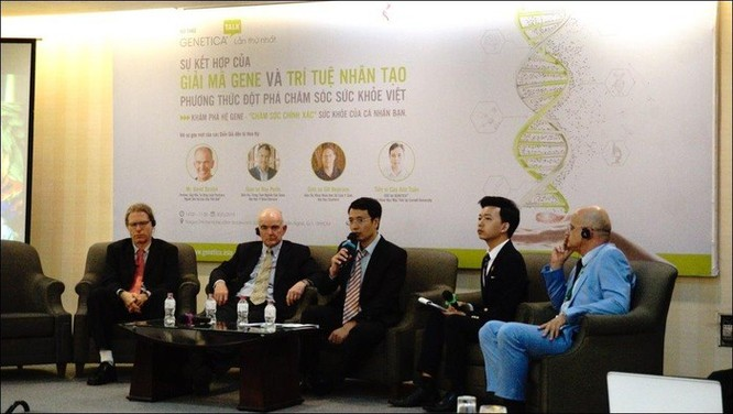 Tiến sĩ Google về Việt Nam mong phát triển ngành chăm sóc sức khỏe chính xác ảnh 2