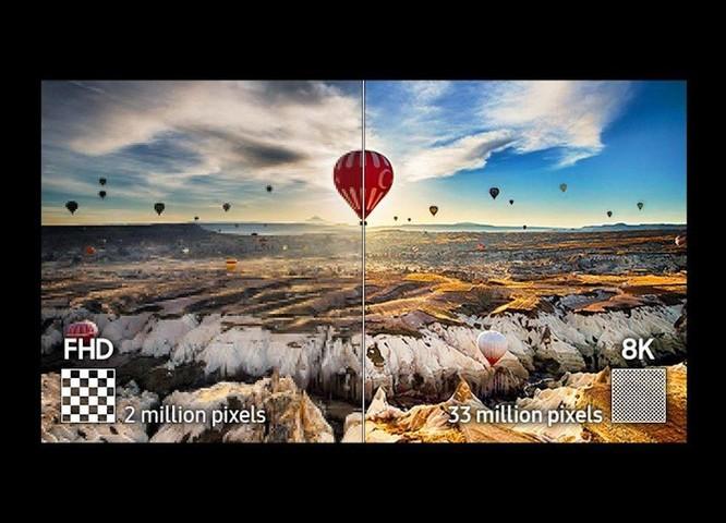 TV Samsung QLED 8K 2019: Thiết kế tối giản, hình ảnh được nâng cấp tối đa ảnh 1