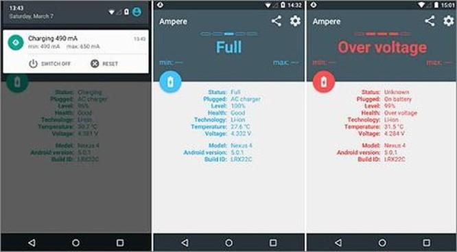 4 ứng dụng Android giúp tăng cường 'sức khỏe' cho pin ảnh 1