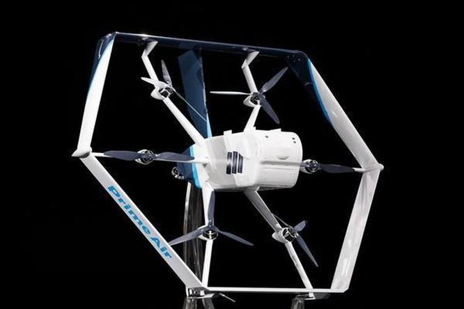 Amazon dự kiến sớm triển khai giao hàng bằng máy bay không người lái ảnh 1