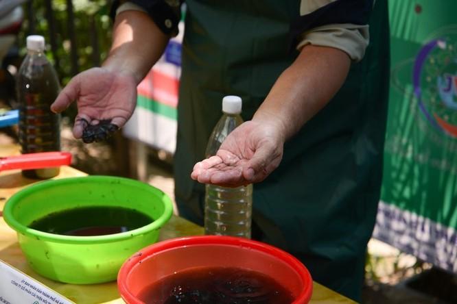 Chuyên gia Nhật công bố kết quả làm sạch sông Tô Lịch ảnh 2