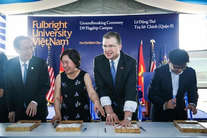 Khởi công trụ sở chính của Đại học Fulbright tại TP.HCM ảnh 2