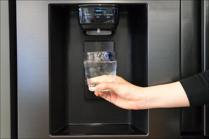 Tủ lạnh Samsung Side by Side RS5000: Thiết kế tối giản, không gian lưu trữ rộng ảnh 3