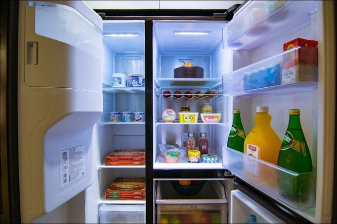 Tủ lạnh Samsung Side by Side RS5000: Thiết kế tối giản, không gian lưu trữ rộng ảnh 2