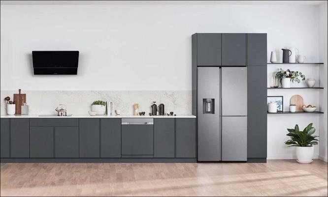 Tủ lạnh Samsung Side by Side RS5000: Thiết kế tối giản, không gian lưu trữ rộng ảnh 1