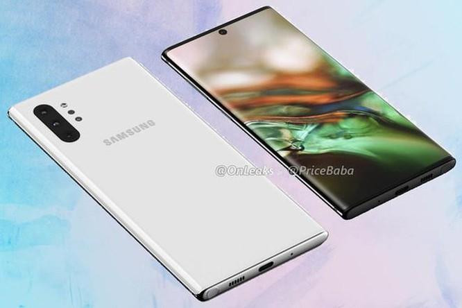 Galaxy Note 10 có thể ra mắt ngày 10/8 với 4 camera sau ảnh 2