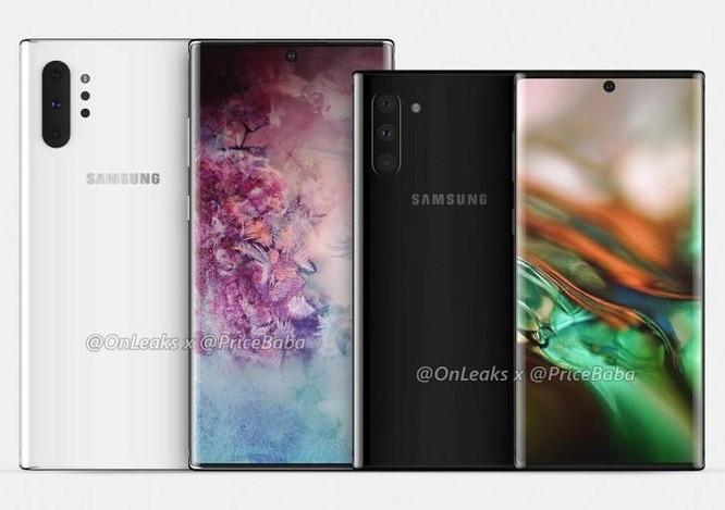 Galaxy Note 10 có thể ra mắt ngày 10/8 với 4 camera sau ảnh 1