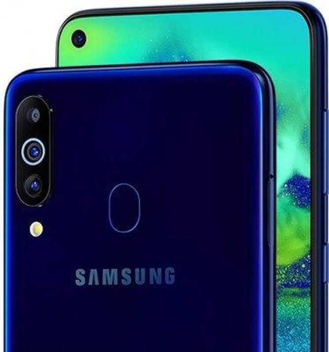 Samsung Galaxy M40 ra mắt: màn hình đục lỗ, 3 camera ảnh 2
