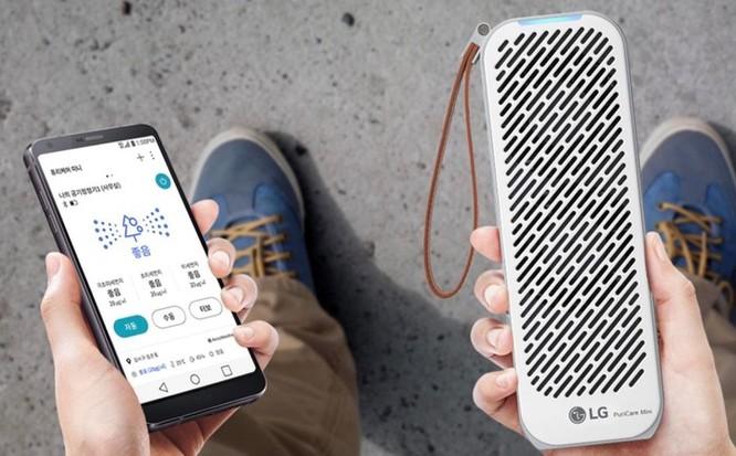 Chi tiết LG PuriCare Mini - máy lọc không khí nhỏ bằng chai nước ảnh 8