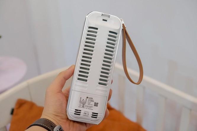 Chi tiết LG PuriCare Mini - máy lọc không khí nhỏ bằng chai nước ảnh 7