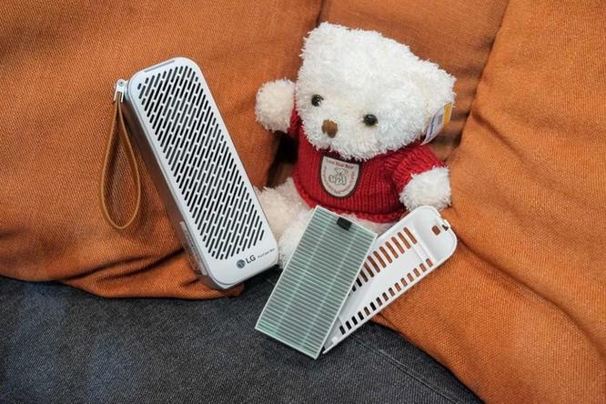 Chi tiết LG PuriCare Mini - máy lọc không khí nhỏ bằng chai nước ảnh 4