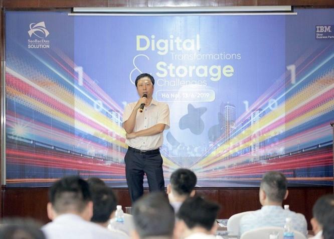 CEO Saobacdau Solution: Công nghệ số đang tham gia trực tiếp vào hoạt động kinh doanh ảnh 1