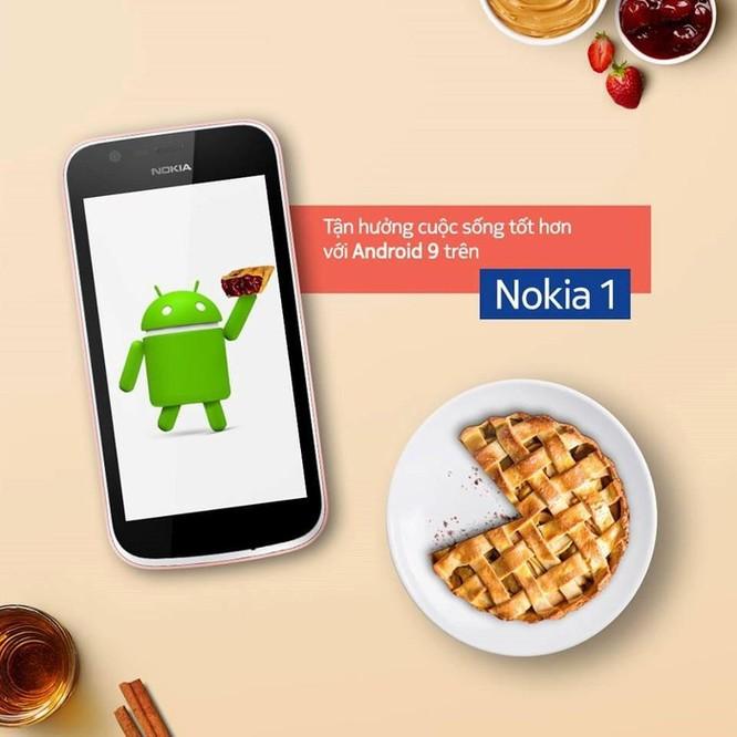Nokia 1 chính thức được nâng cấp lên hệ điều hành Android 9 Pie ảnh 1