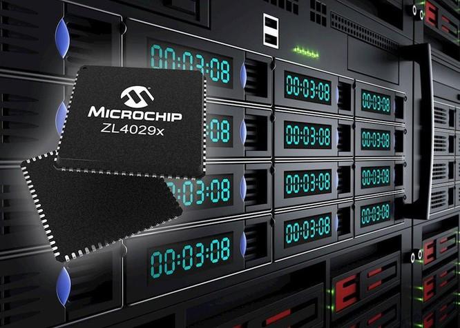 Microchip ra mắt 4 dòng bộ đệm Clock mới dành cho các ứng dụng trung tâm dữ liệu ảnh 1