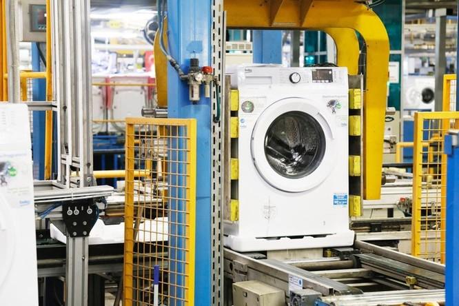 Nơi ra đời của những chiếc máy giặt châu Âu dùng nhựa tái chế ảnh 3