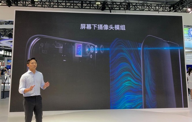 Oppo ra smartphone có camera ẩn dưới màn hình đầu tiên ảnh 2