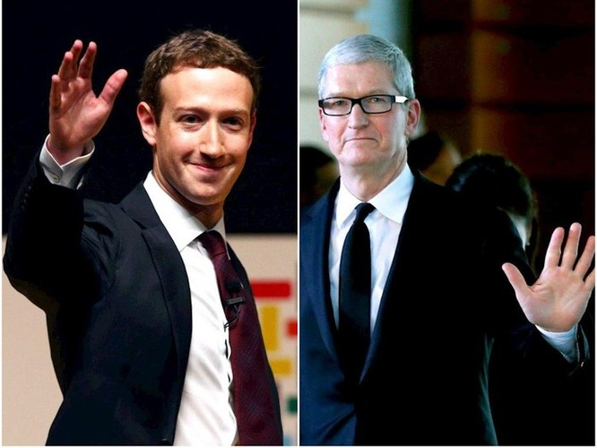 Facebook đấu 'võ mồm' với Apple ảnh 1