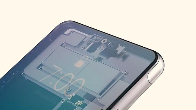 Bản dựng iPhone Pro - camera selfie ẩn dưới màn hình, vân tay siêu âm ảnh 2